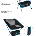 New Outdoor Portable Folding Chair Ultralight Camping Picnic Beach Seat Stool