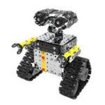 New Mofun DIY Stainless Steel RC Robot Sliding Block Building Assembled Robot Toy