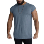 New Mens Comfortable Fitness Sports Casual Tops Tees