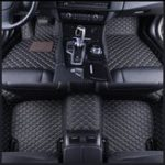 New PU Leather Car Front & Rear Floor Liner Mat Waterproof Pad for BMW X5 E70 2007-2013
