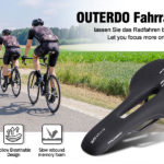 New Outdoor Sports Bike Saddle Comfortable Waterproof and Memory Foam Bicycle Saddle MTB Road Saddle