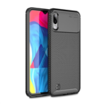 New Bakeey Protective Case For Samsung Galaxy M20 2019 Carbon Fiber Fingerprint Resistant Soft TPU Back Cover