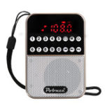 New LCD Digital FM Pocket Radio Speaker USB TF Card MP3 Music Player