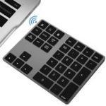 New Bluetooth Digital Keyboard Aluminum Alloy Wireless Digital Keyboard Applicable To Apple Laptop Office Computer