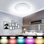 New 48W Smart Ceiling Panel Light Lamp RGB+W WiFi Control For Echo Alexa Google AC85-265V