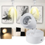 New 3W LED Spotlight Bedside Reading Ceiling Wall Light Lamp Adjustable AC85-265V