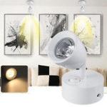 New 3W LED Spotlight Bedside Reading Ceiling Wall Light Lamp Adjustable AC85-265V
