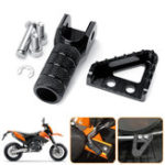 New Rear Brake Pedals Step Plate+Gear Shifter Shift Lever Tip For KTM SX EXC XCF SMC