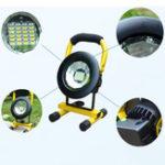 New A08483 2400Lumens 3Modes LED Portable COB Flood Light LED Flashlight Work Light