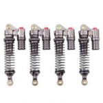 New 4PCS 100mm Aluminum Alloy Shock Absorber for 1/10 Axial SCX10 RC4WD D90 Crawler Rc Car Parts