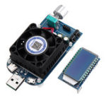 New KZ25 25W 4A USB Intelligent Trigger Electronic Load Fast Charge Tester Voltmeter Battery Capacity Tester