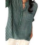 New Pocket Striped Button Shirts
