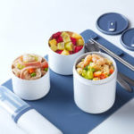 New Xiaomi Kalar 990ml Bento Lunch Box Meal Food Container Microwave Heating Cooler Picnic BBQ