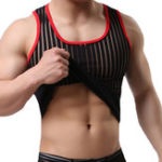 New Men Thin Breathable Muscle Fit Gym Tank Tops
