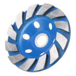 New 100mm Diamond Grinding Wheel Disc Concrete Masonry Stone Marble Sanding Wheel Blue