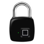 New P3+ Smart Fingerprint Bluetooth Anti-theft Security Rechargeable Luggage Home Electronic Door Lock Padlock iOS Android APP Lock