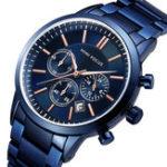 New MINI FOCUS MF0188G Business Style Steel Men Quartz Watch