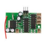 New 1Pc Receiver Board For WPL B1 B16 B24 B36 C14 C24 1/16 Rc Car Parts Original Engine Sound System