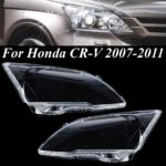 New Clear Car Headlight Headlamp Lens Cover Left/Right for Honda CR-V 2007-2011