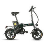 New FIIDO L1 48V 250W 23.4Ah 14 Inches Folding Moped Bicycle 25km/h Max 150KM Mileage Electric Bike