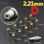 New 10pcs 0.5-3.2mm Collet with 1pc Drill Chuck Mini Electric Drill Bit Collet Set