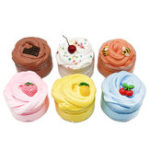 New DIY Fruit Slime Fluffy Cotton Mud Multi-color Marshmallow Clay 100ml
