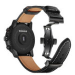 New Top Layer Leather Watch Strap Watch Band for Huami Amazfit 2