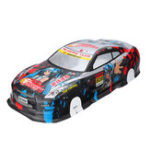 New 1/10 RC On-Road Drift Car Body Painted PVC Shell for Nissan GTR Vehicle Parts