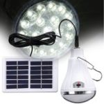 New Portable Solar Power Remote Control LED Emergency Light Tent Lamp Outdoor Camping Lantern