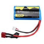 New PXtoys 7.4V 1500mAh 15C 2S T Plug Lipo Battery for 9200 9202 1/12 Rc Car Parts PX9200-46