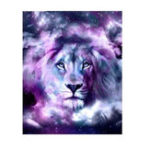 New 5D Diamond Painting Rhinestone Full Mosaic Animal Craft Embroidery Lion Cross Stitch Home Decorations