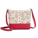 New Women Faux Leather Hollow Bucket Bag Shoulder Bag