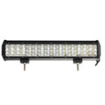 New 14Inch LED Work Light Bar Tri Row Flood Spot Combo Beam DC10-30V 135W for JEEP Off Road SUV