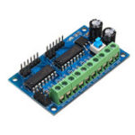 New 5pcs L293D 4 DC Motor Drive Module Motor Driver Intelligent H-bridge For 4WD Car Robot