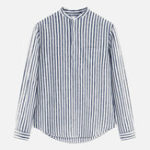 New Baggy Striped Vintage Long Sleeve Casual Shirts