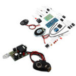 New 3pcs DIY Infrared Transmitter Receiver Kit Wireless Audio Transmission Module Kit
