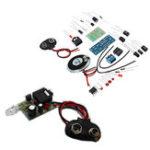New 3pcs DIY Infrared Transmitter Receiver Kit Wireless Audio Transmission Module Kit