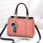New Women Vintage Faux Leather Large Capacity Handbag