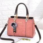 New Women Vintage Faux Leather Large Capacity Handbag