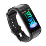 New Bakeey V1 Color Display Menstrual Cycle All-time Heart Rate Monitor Stopwatch USB Charging Smart Watch Band