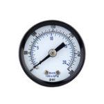 New TS-40-300PSI 0-20Bar 0-300PSI Pressure Gauge Mini Pressure Gauge Manometer Air Compressor Pneumatic Hydraulic Fluid Pressure Meter Tester