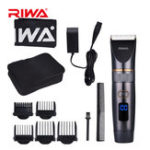 New RIWA RE-6501 Hair Clipper Titanium Ceramic Blade Razor