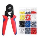 New 1640PCS Connector Wire Terminal Kit with +6-4A Crimper Pliers Wire Stripper Tool Crimp Terminals