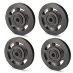 New Universal Bearing Pulley Wheels Cable Gym Equipment Part Wearproof Durable 95mm