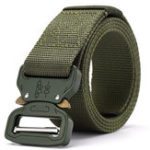 New 125cm Tactical Belt Release Buckle Nylon Belt Camouflage Belt