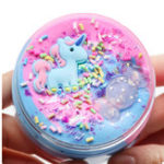 New Unicorn Cotton Mud Slime Multi-color Candy Clay Plasticine