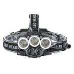 New OUTERDO 1500LM USB Rechargeable Headlamp with Batteries 6 Modes Adjustable Work Lamp Camping Hunting Emergency Lantern