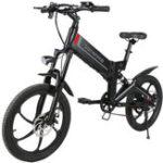 New Samebike XW-20RW Deluxe Edition 350W Smart Bicycle Folding 7 Speed 48V 10.4AH Electric Bike 35km/h Max Speed EU Plug E-bike