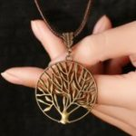New Vintage Life Tree Necklace