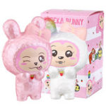 New  Puni Maru Squishy Cheeka Bunny Rabbit With Carrot Licensed Slow Rising With Original Packing